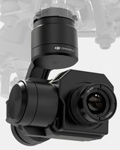 Integrated Gimbal and Thermal Camera From DJI for their Inspire 1 and Matrice 10...