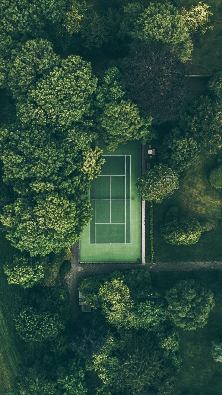 Aerial photography drone : The green door - DronesRate.com | Your N°1 Source for Drone Industry News & Inspiration