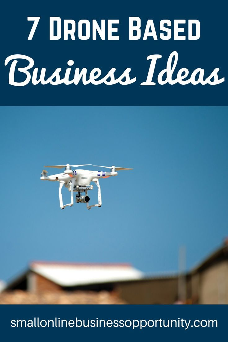 7 Drone Based Business Ideas