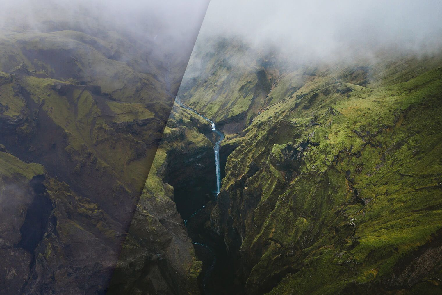 Lightroom Presets for Aerial & Drone Landscape Photography