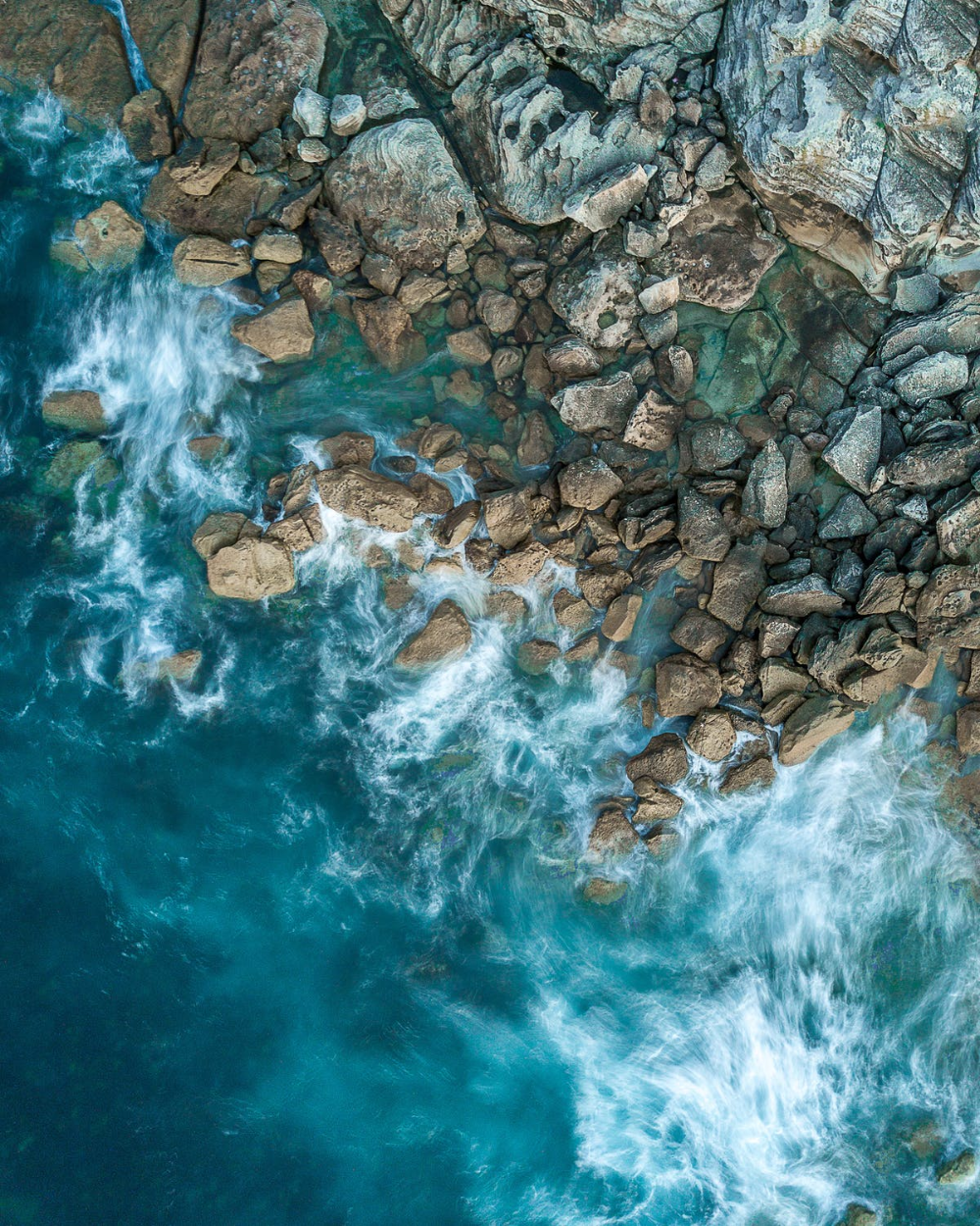 Aerial Photography of Sea · Free Stock Photo