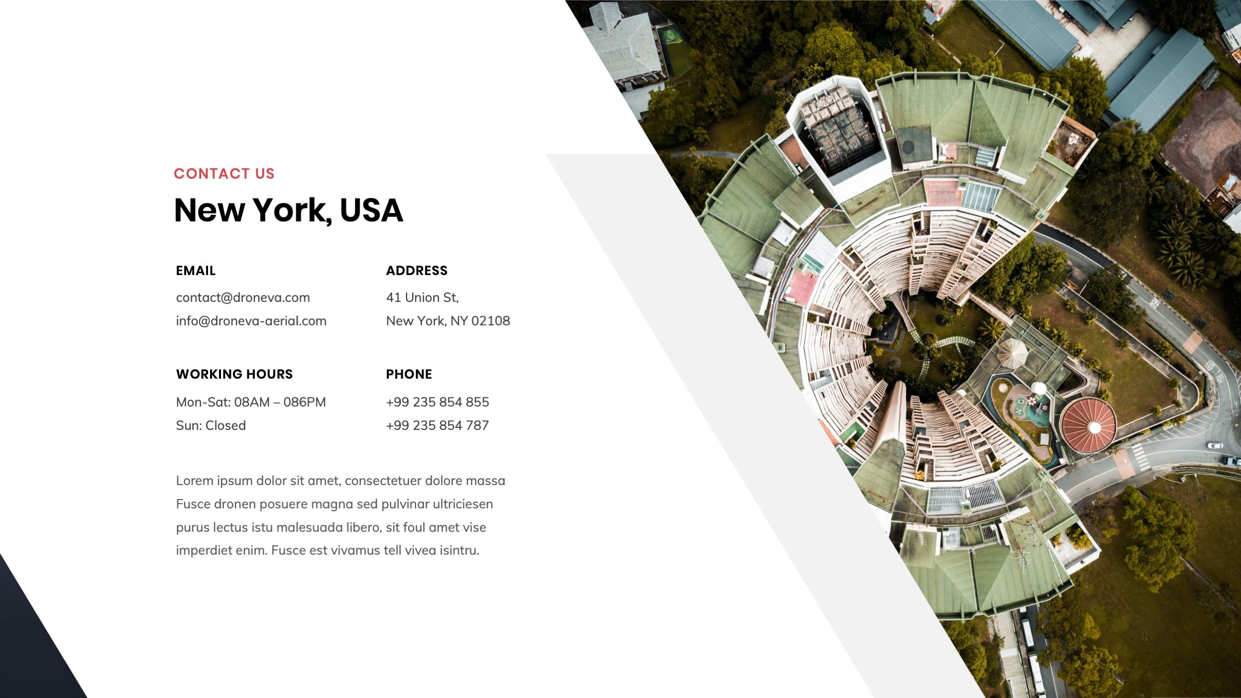 Drone & Aerial Photography Keynote Presentation Templates #AD #Aerial, #paid, #a...