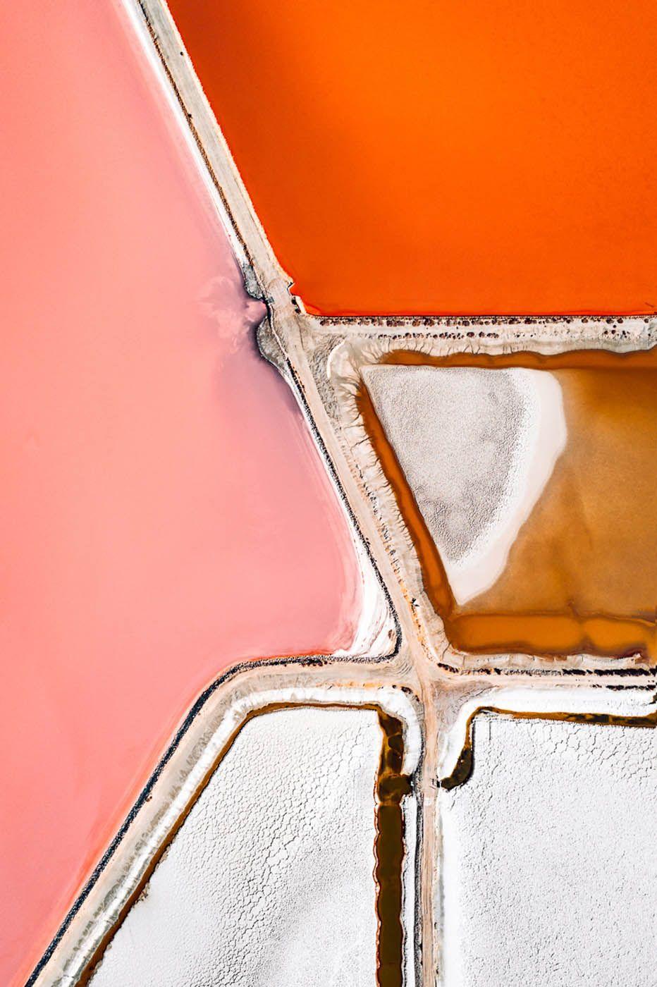 The Salt Series : les lacs salés et colorés de Tom Hegen