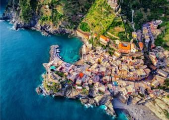 Drone photography: on top of the world