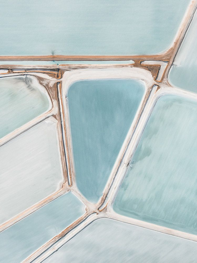 Gallery of The Beauty of Sea Salt Landscapes From Above  - 4