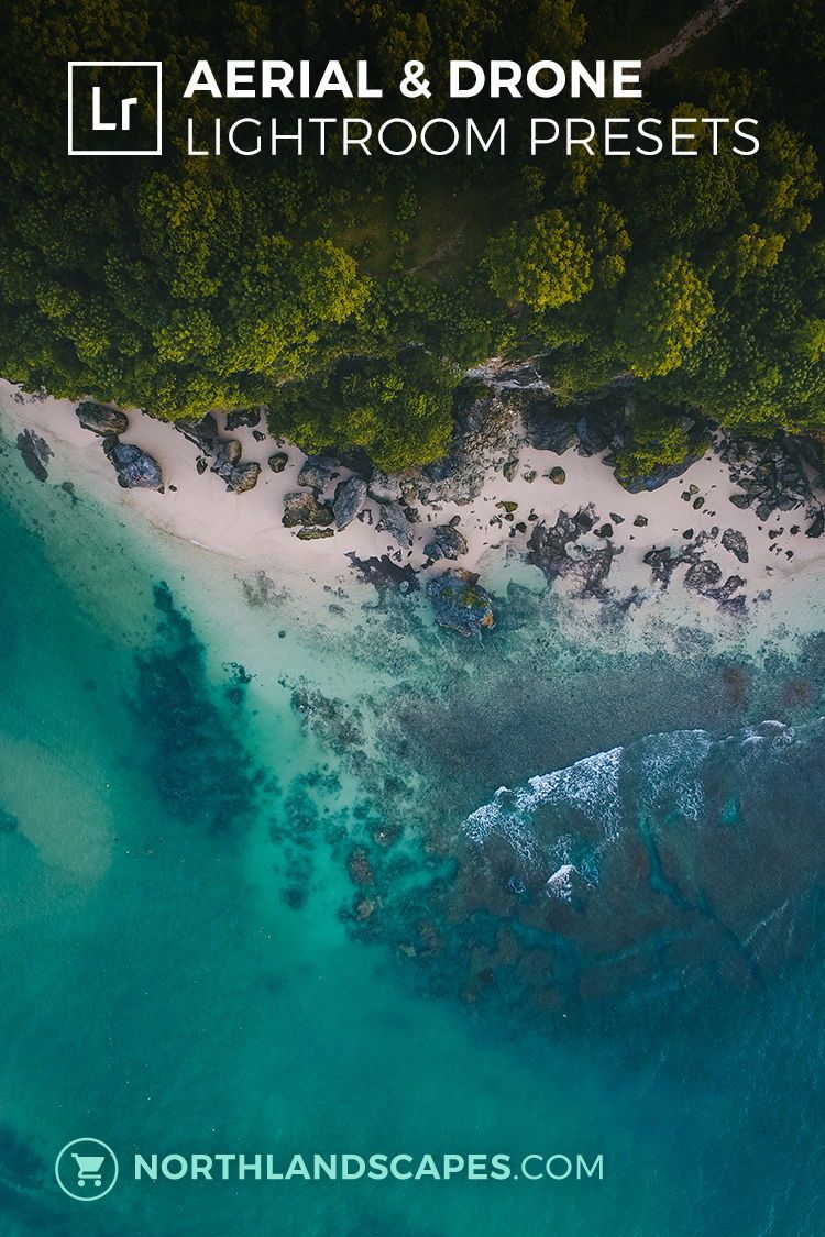 60 Lightroom Presets for Aerial & Drone Photography