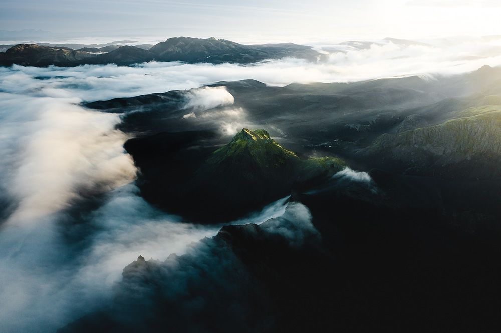 Iceland From Above: Beautiful Aerial Photography By Gabor Nagy