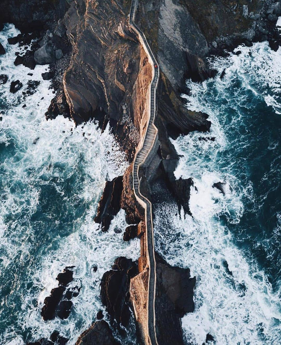 "A zen way to book your stay! on Instagram: ""See what a beautiful bridge connects the Basque Country mainland and the island of Gaztelugatxe? This is a special case when the road to…"""