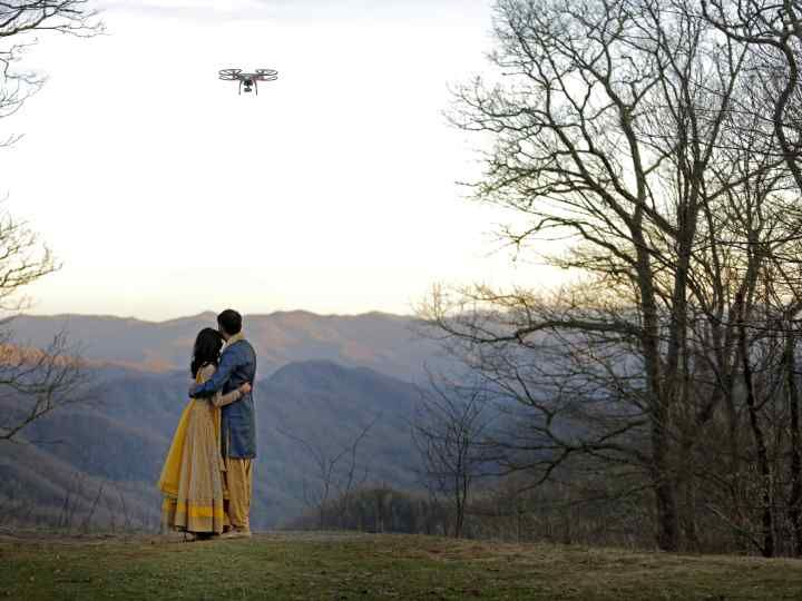 Drones: The Wedding Video Trend You Have to See to Believe