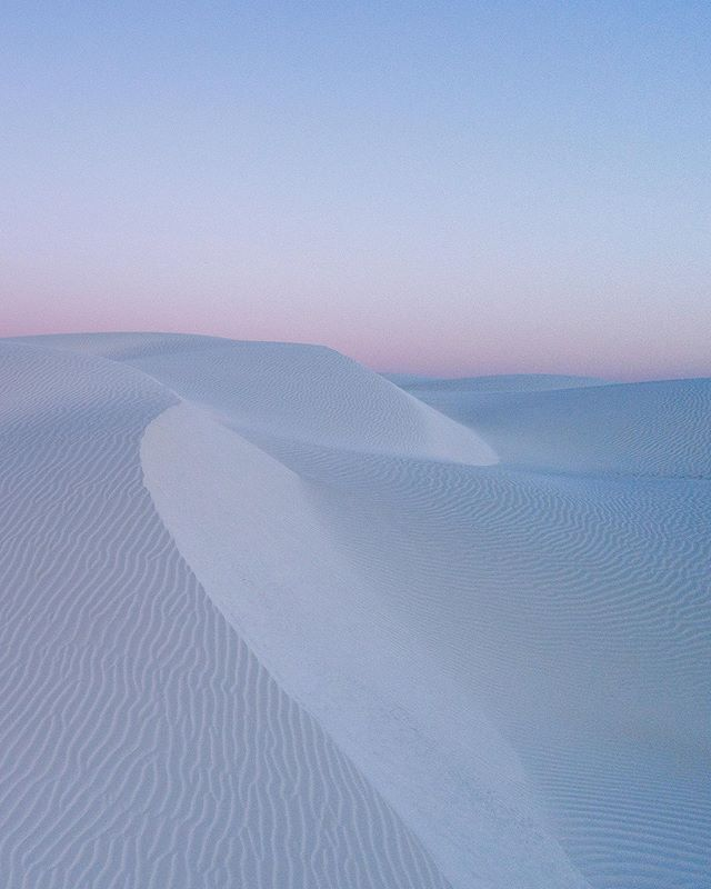Lancelin Sand Dunes at Sunset, Western Australia