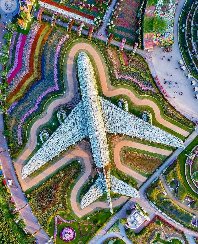 The Dubai Miracle Garden is a flower garden Dubai, United Arab Emirates.