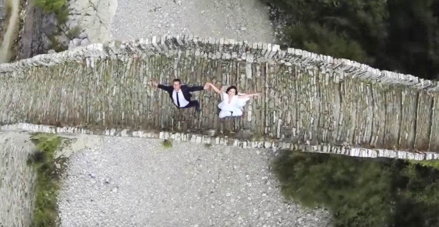 Drone Videography Services for Weddings