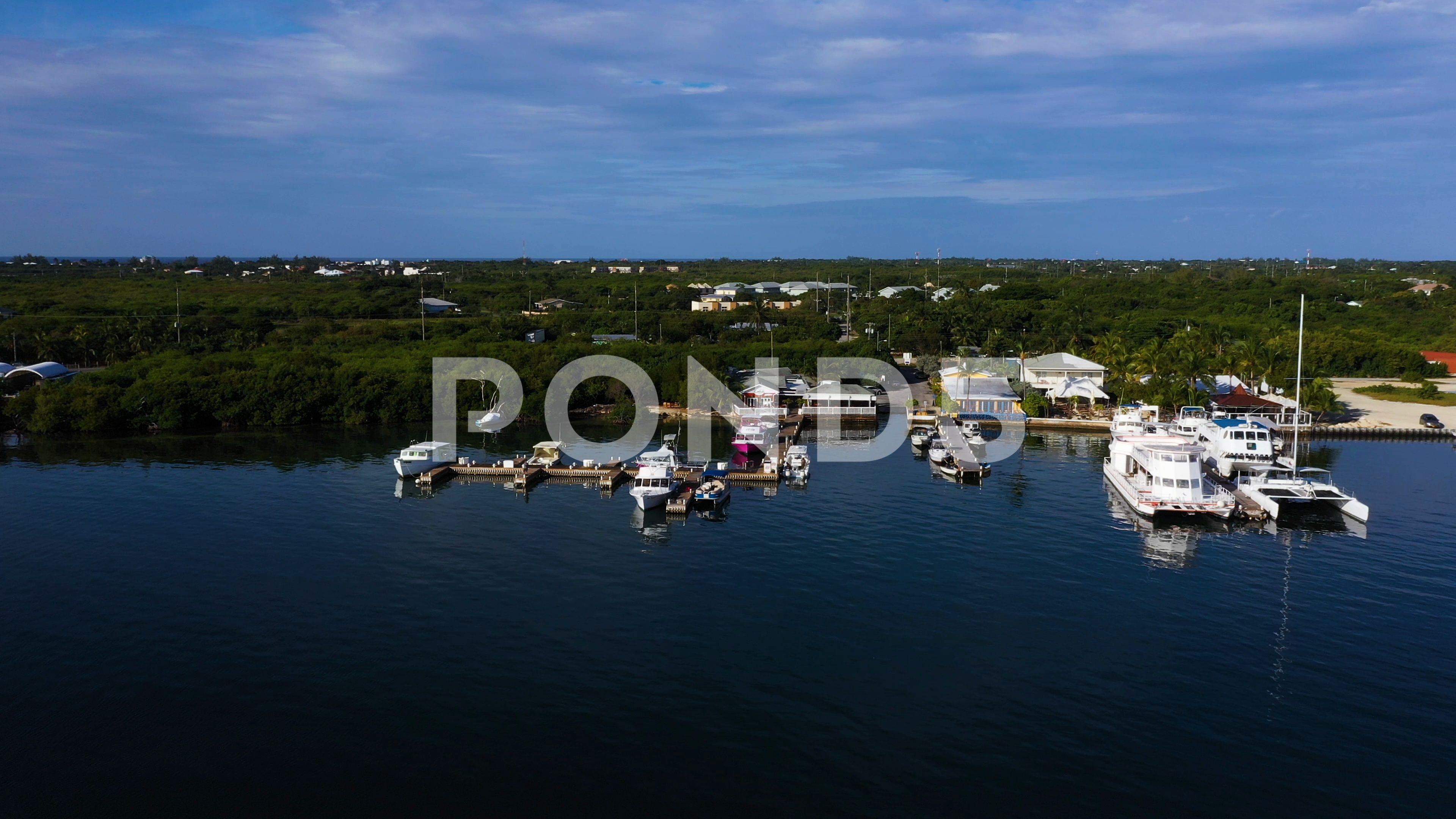 aerial drone footage of grand cayman | Stock Video | Pond5