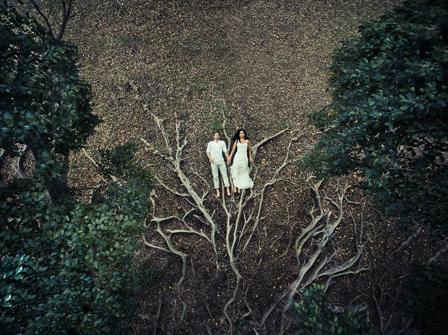 I Shot Weddings From Above Using Drones