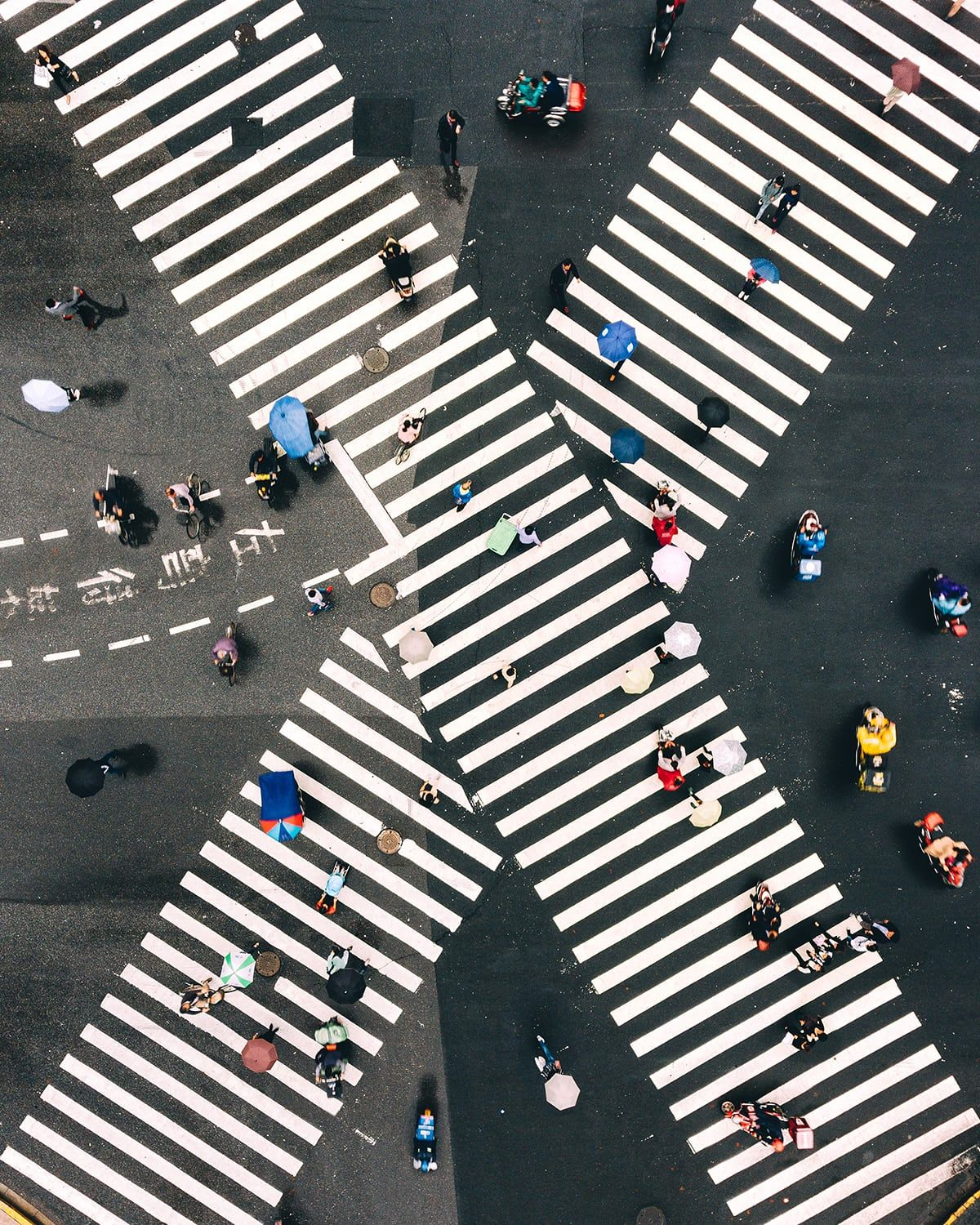 The new view from above: drone photography captures city symmetry – in pictures