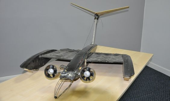 Is it a bird? Is it a bat? No, it's the future of drone technology