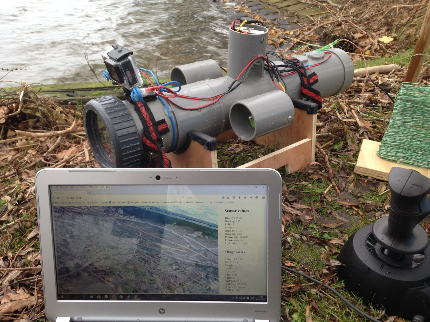 Submersible drone, powered by Pi — The MagPi magazine