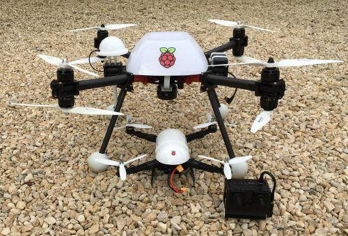 Autonomous drones (only slightly flammable) - Raspberry Pi