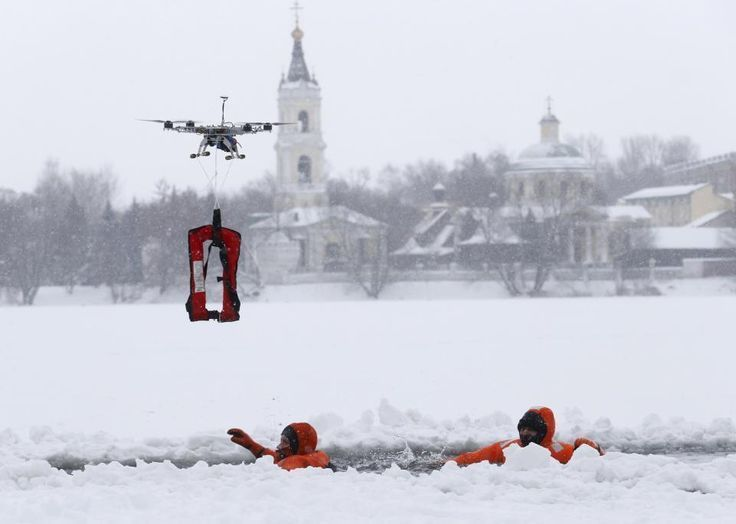 Firefighting, criminal chasing, rescue drones are on their way