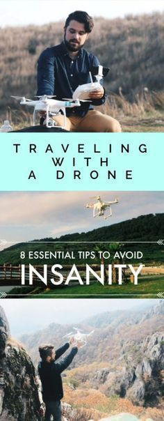 Traveling with a Drone: 8 ESSENTIAL Tips to Avoid Insanity - Television of Nomads