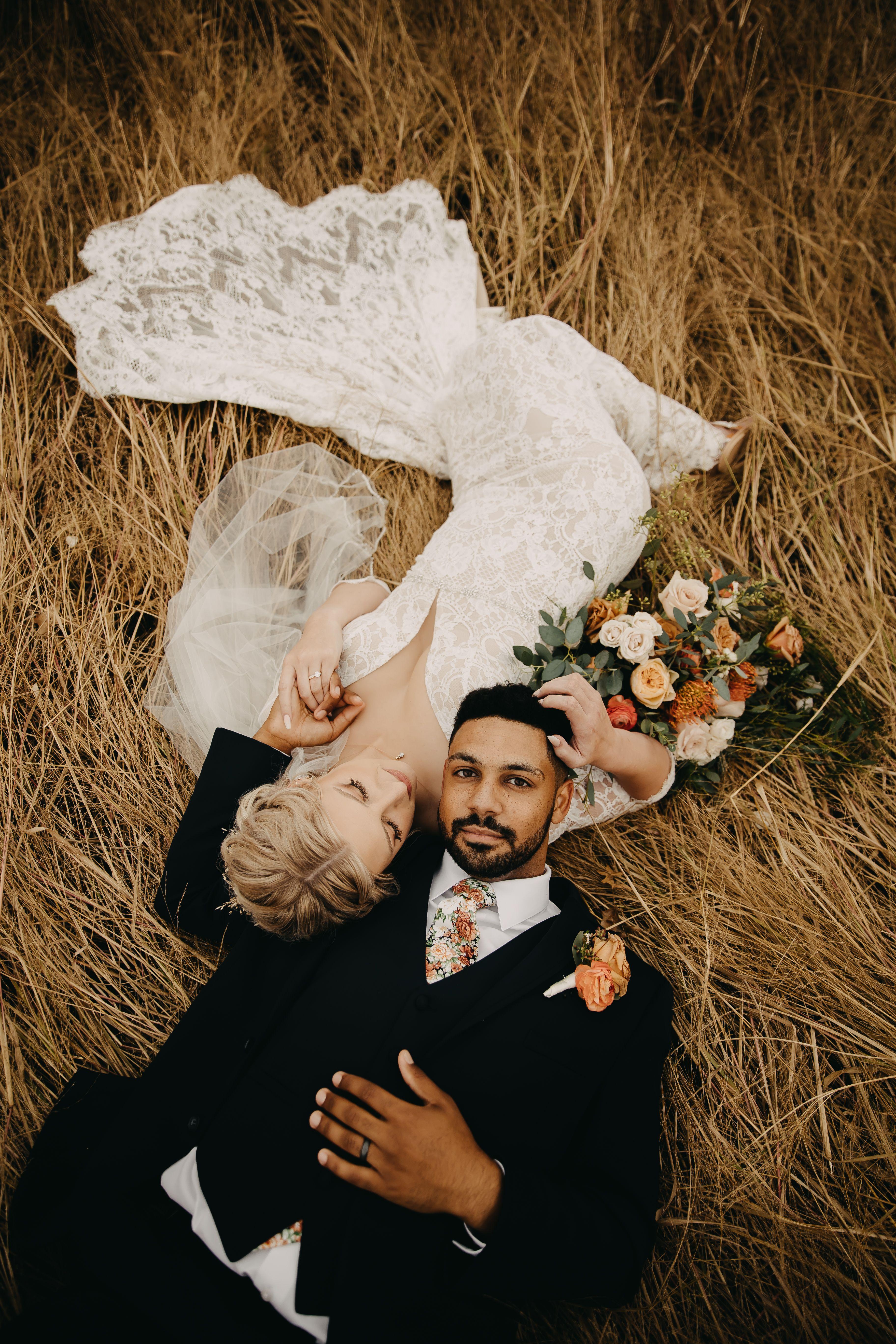 Boho Wedding Couple Inspiration. Wedding Photography
