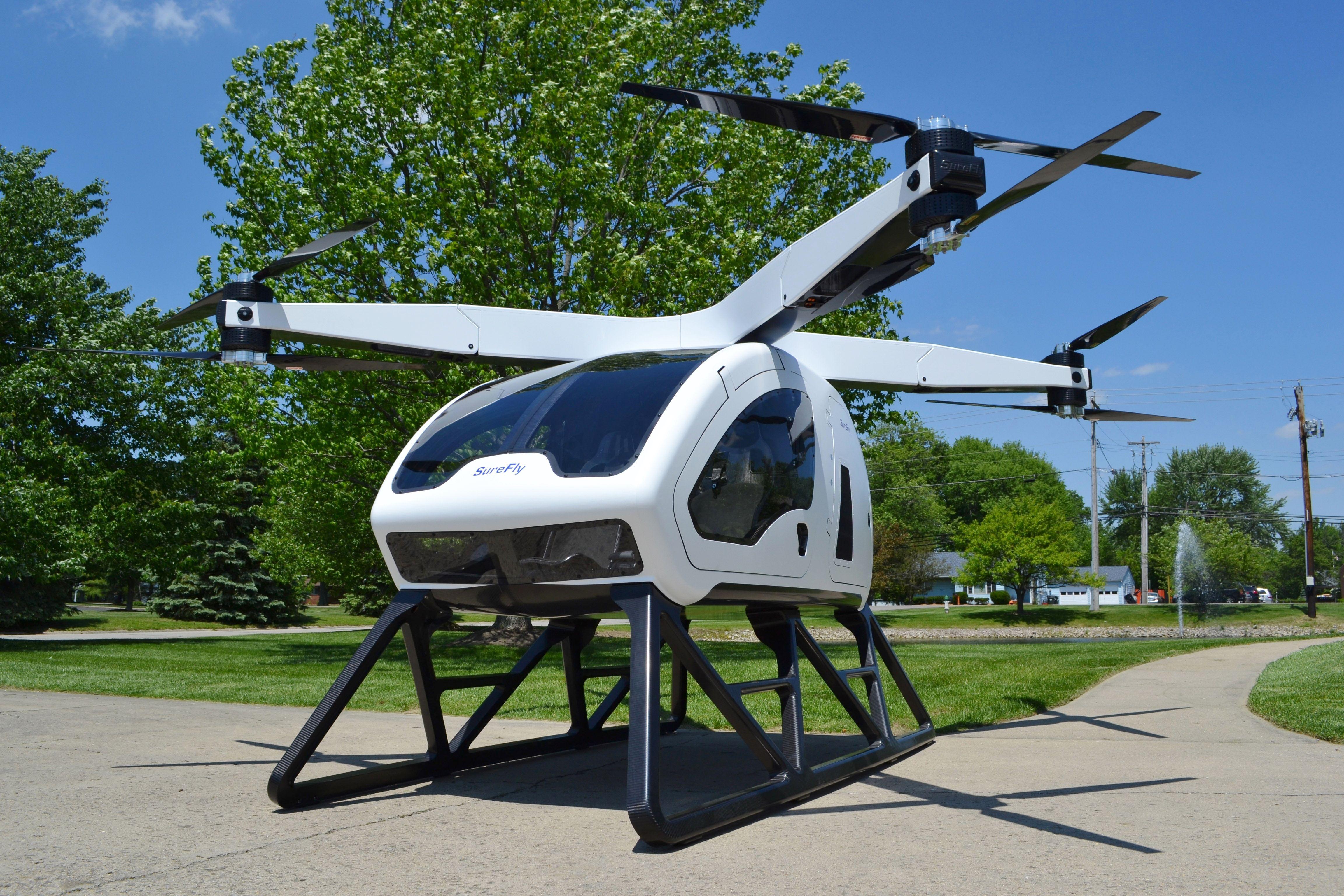 Terrafugia TF-2 Car Drone