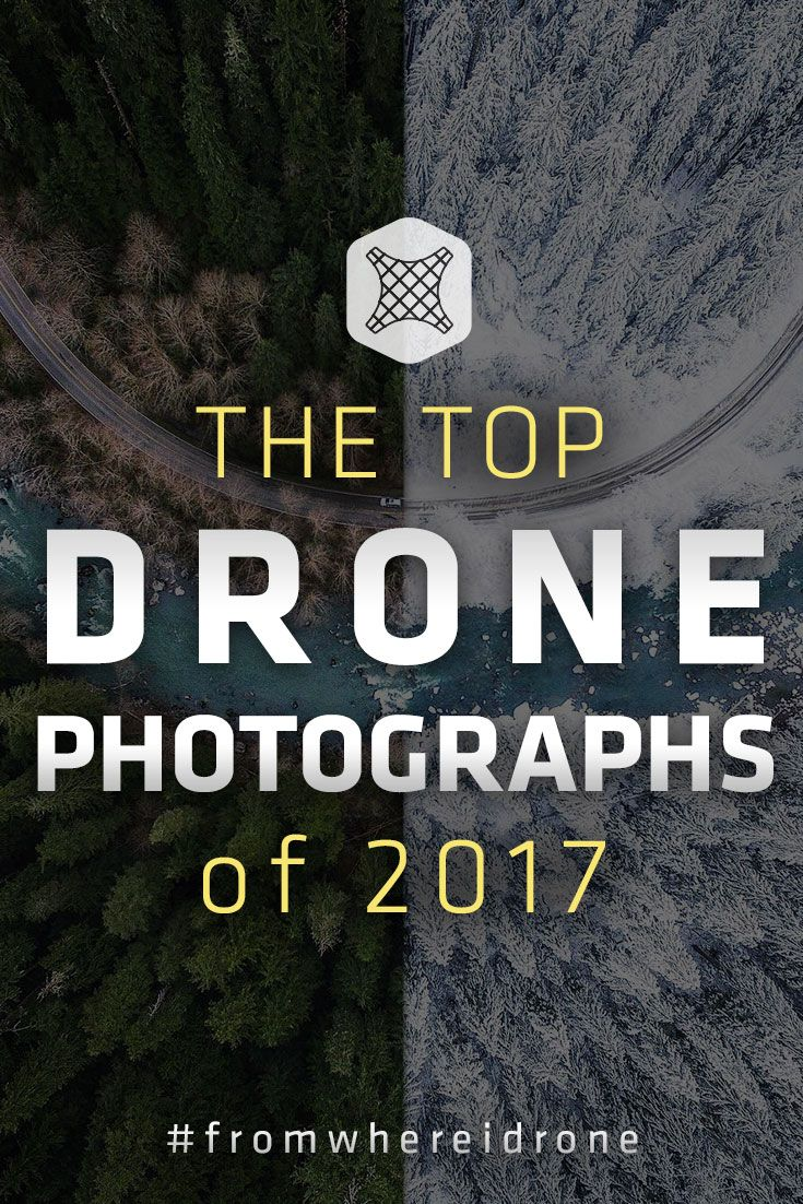 The Year's Top 60 Drone Photos -