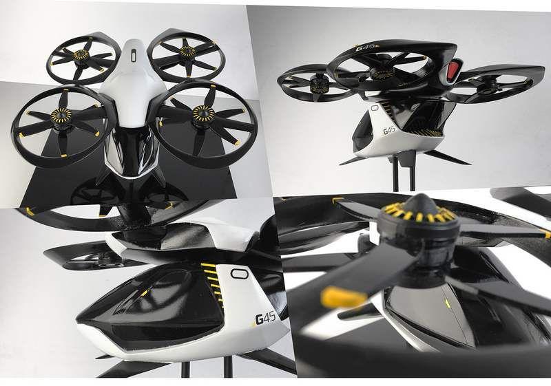 Autonomous Passenger Drone | WordlessTech